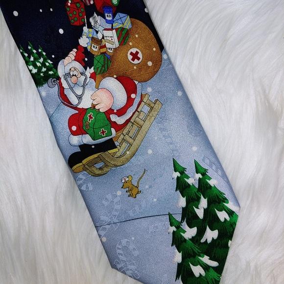 Hallmark Other - Christmas Hallmark Doctor Medical Tie 60+